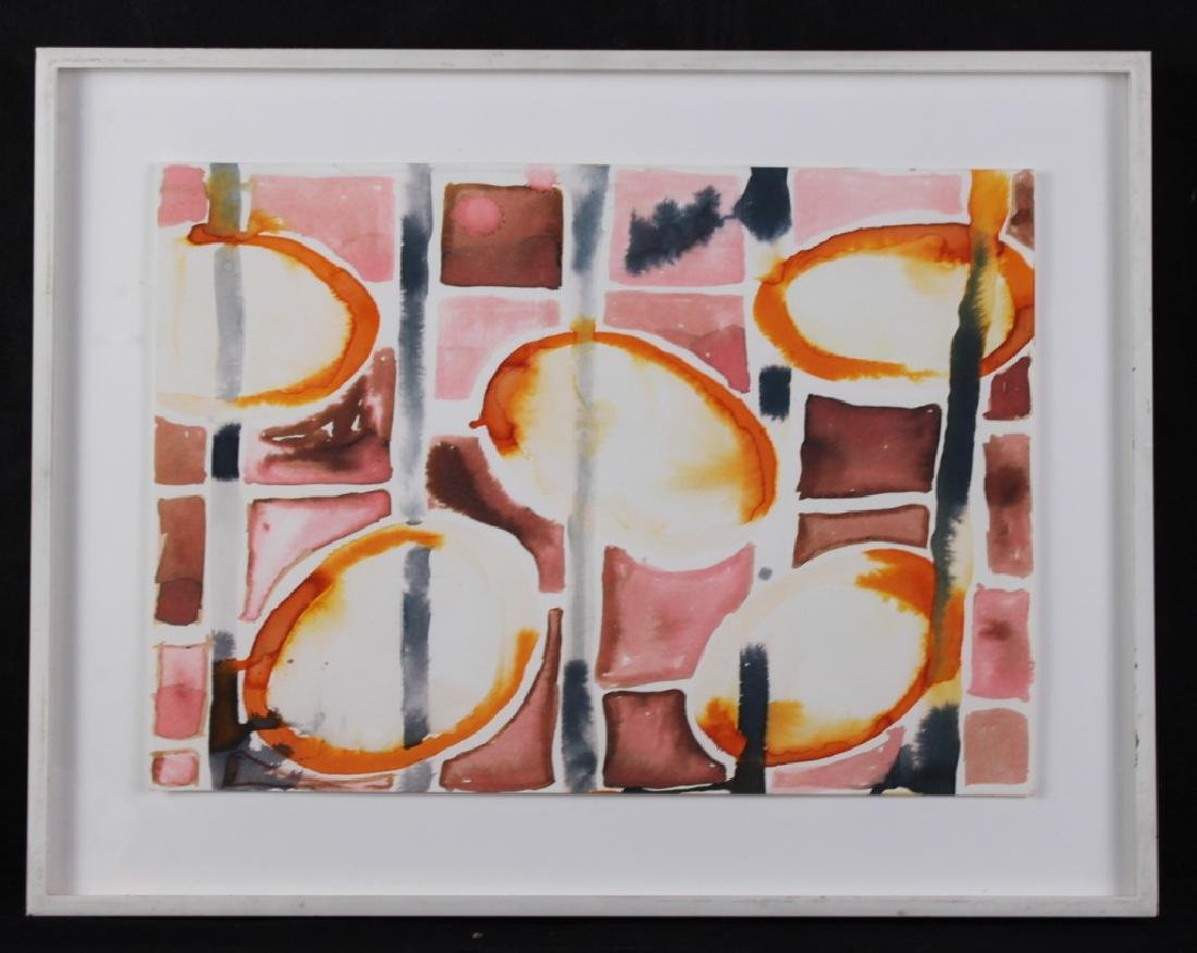 Tama Janowitz Watercolor 15 Squares
