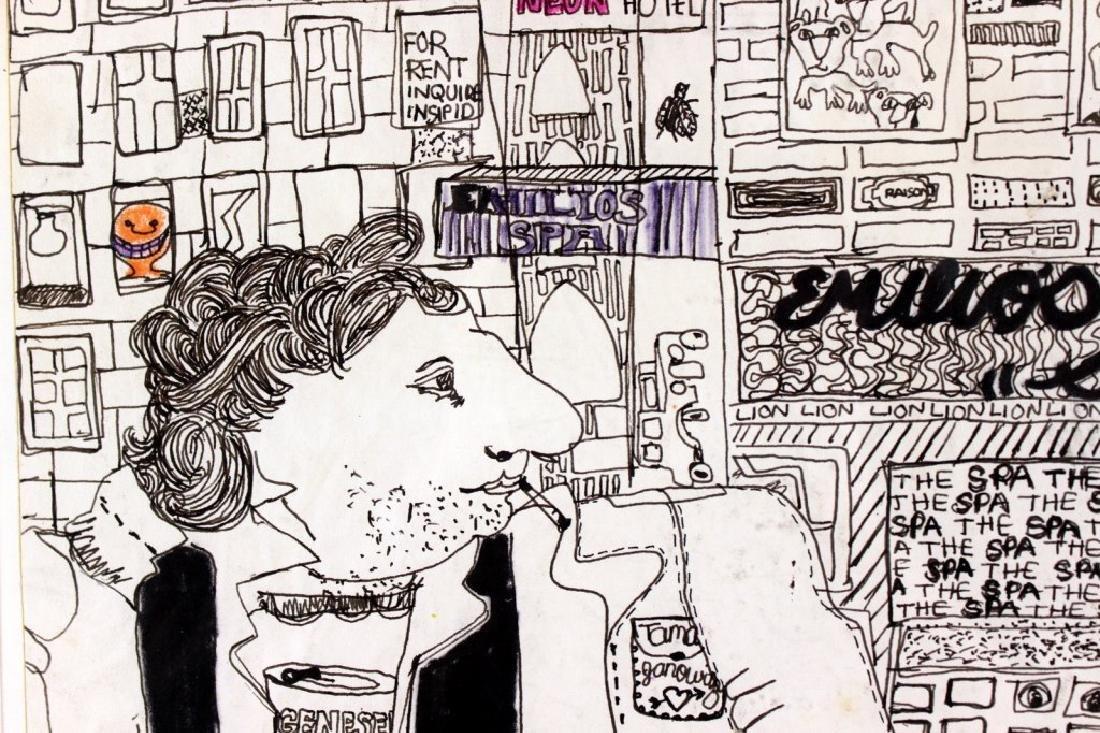 Tama Janowitz Original Art - 3