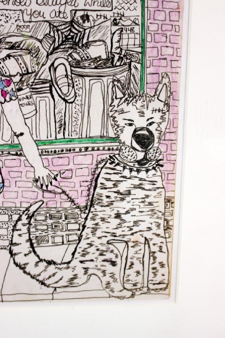 Tama Janowitz Original Art - 4