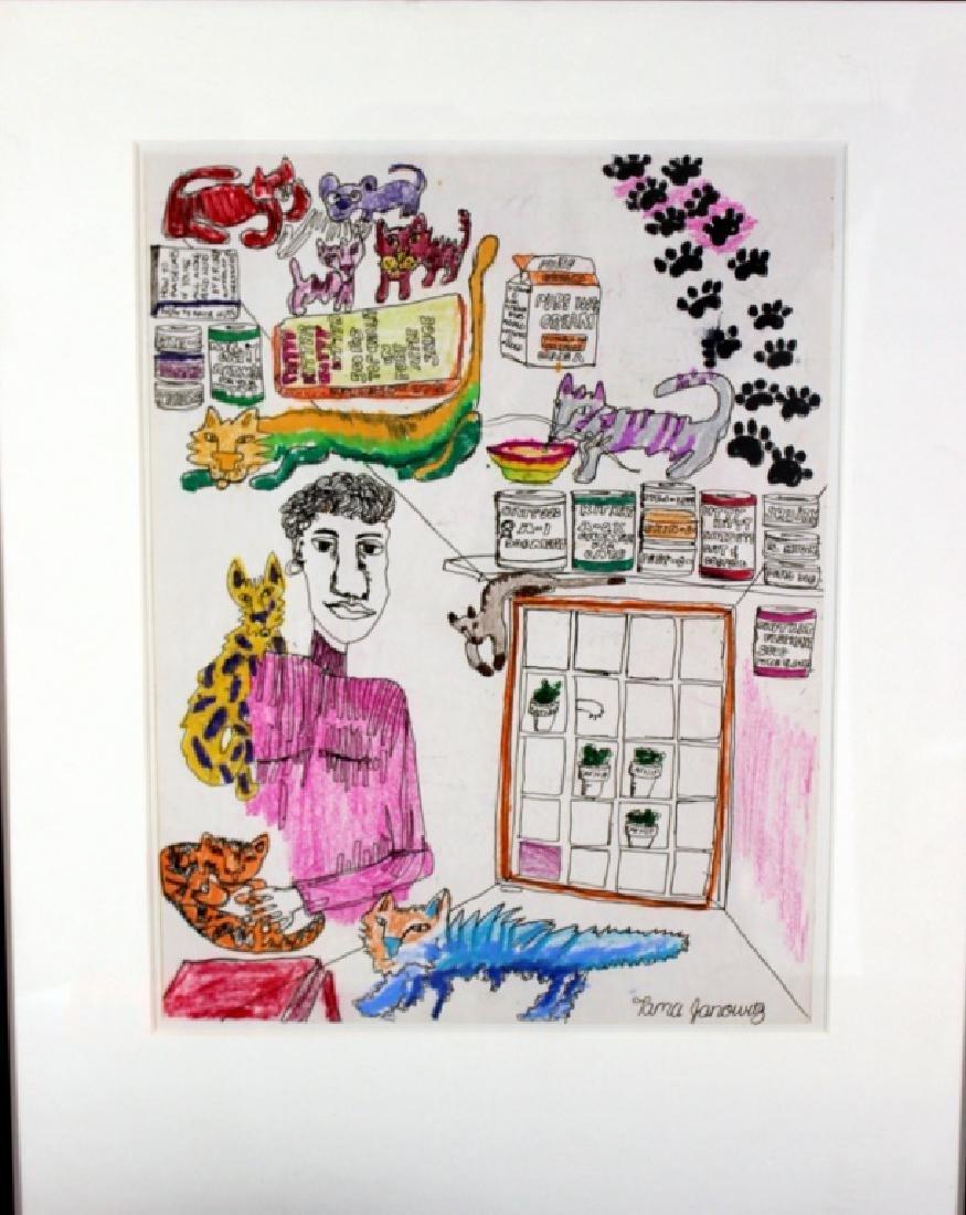 Tama Janowitz Original Art