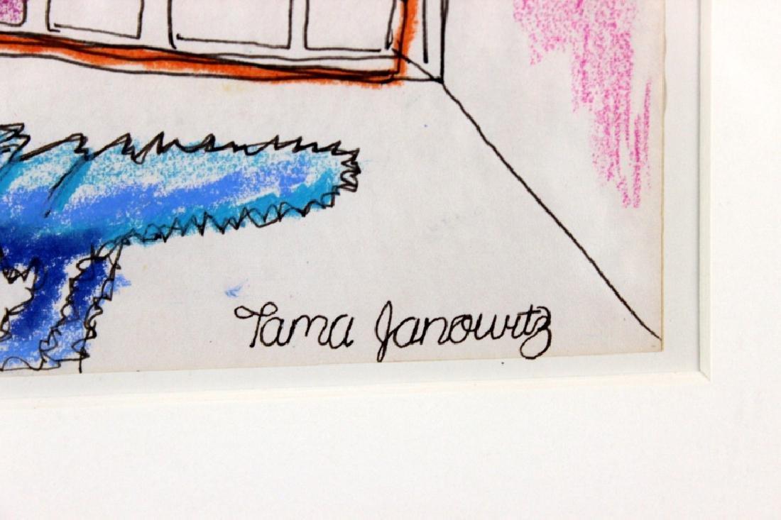 Tama Janowitz Original Art - 2
