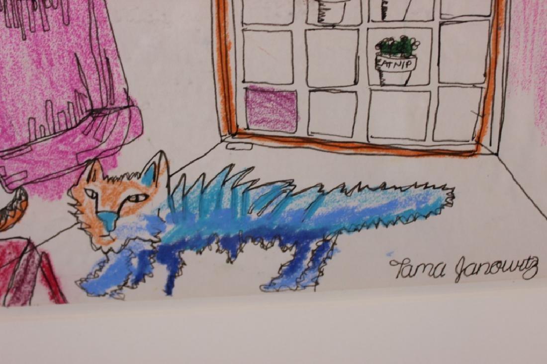 Tama Janowitz Original Art - 6