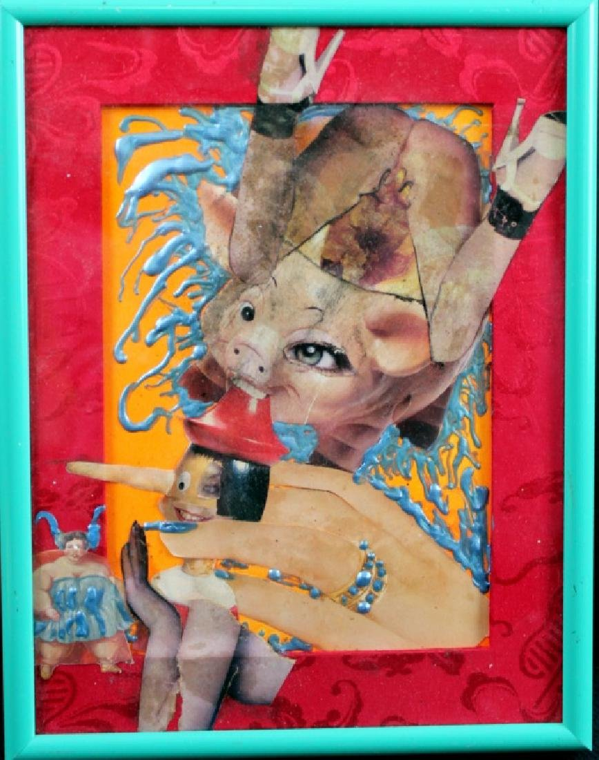 Tama Janowitz Original Artwork Mixed Media (3) - 4