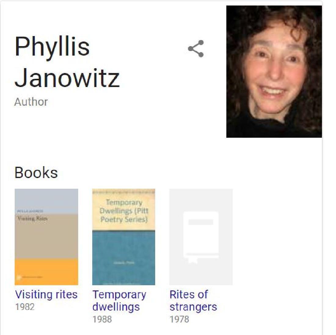 Phyllis Janowitz (1930-2014)  Oil Painting - 7