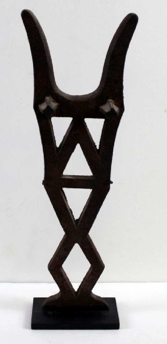 Found Objects Art Metal Standing Figure Sculpture