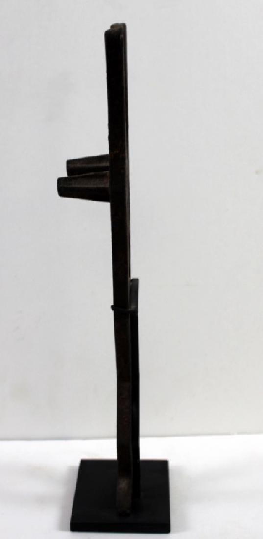 Found Objects Art Metal Standing Figure Sculpture - 2