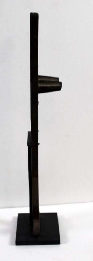 Found Objects Art Metal Standing Figure Sculpture - 4