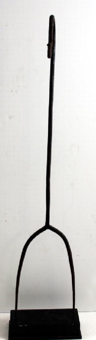 Found Objects Art  Primitive Fork Figure Sculpture