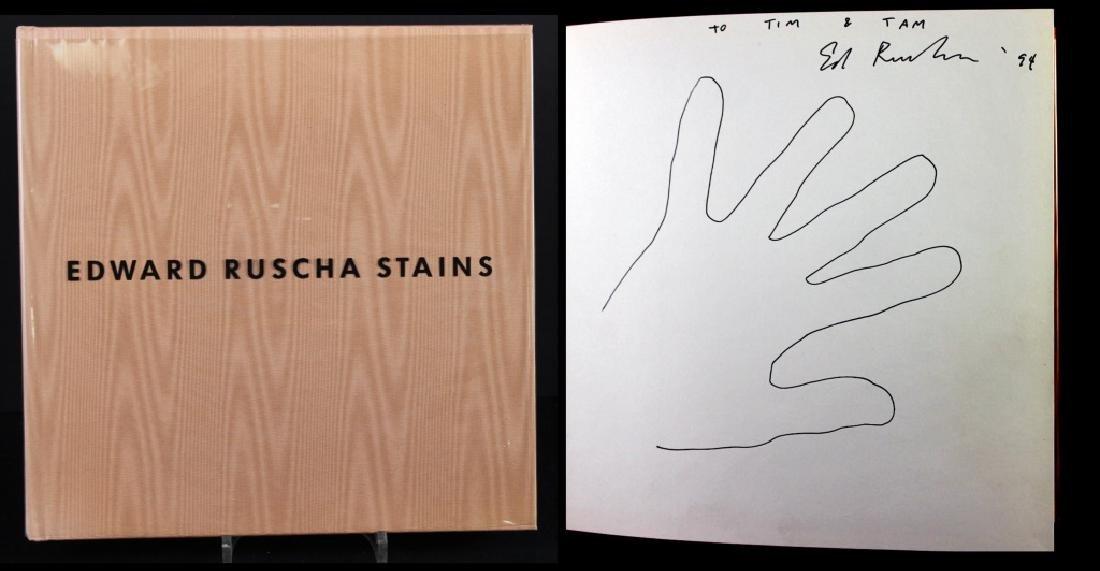 Edward Ruscha (b.1937) Drawing in Book & Photo