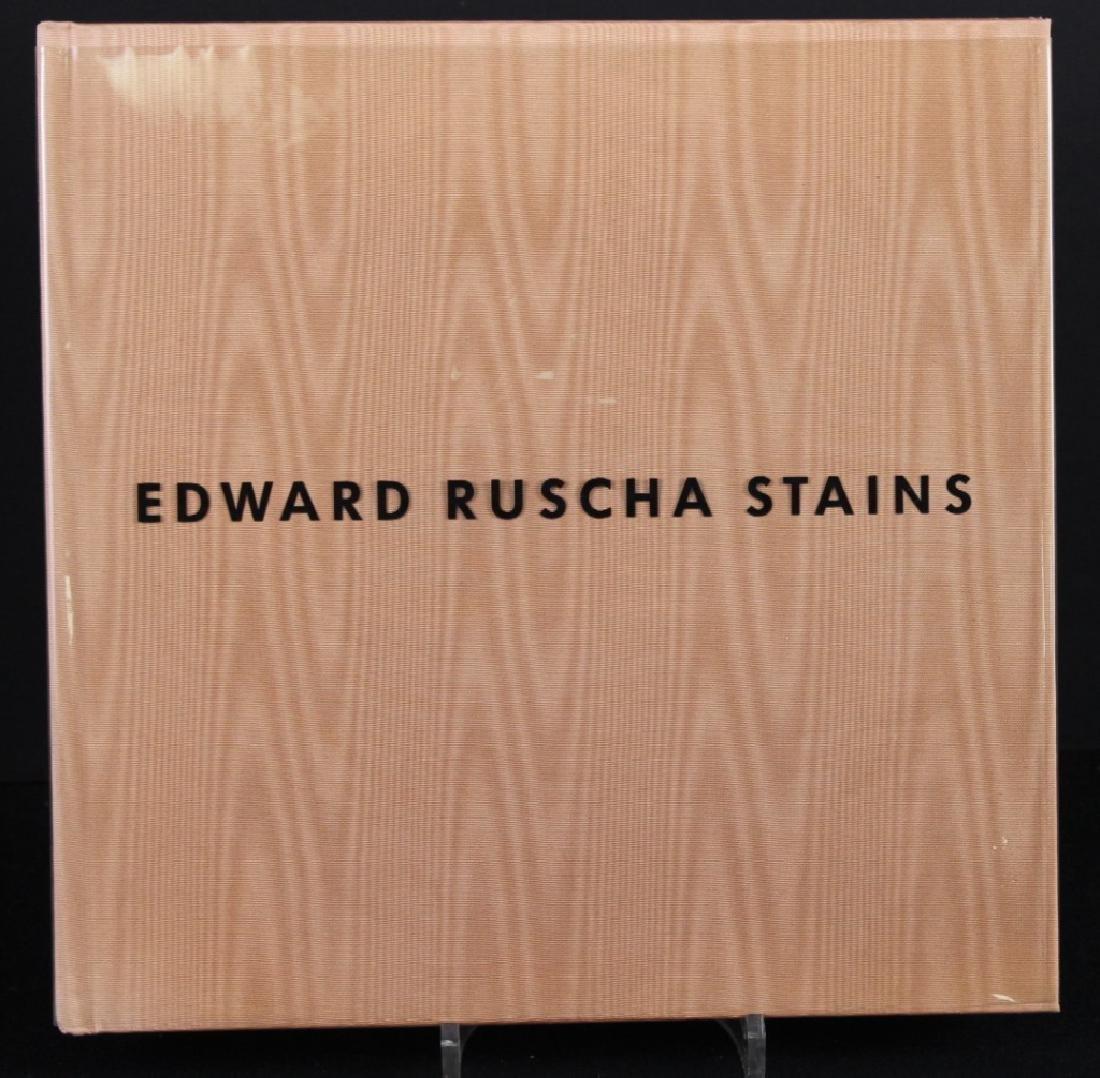 Edward Ruscha (b.1937) Drawing in Book & Photo - 2