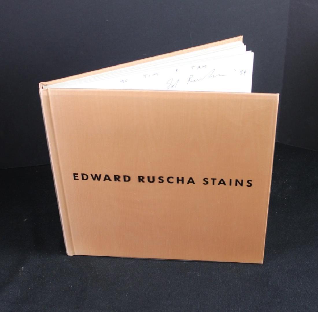 Edward Ruscha (b.1937) Drawing in Book & Photo - 4