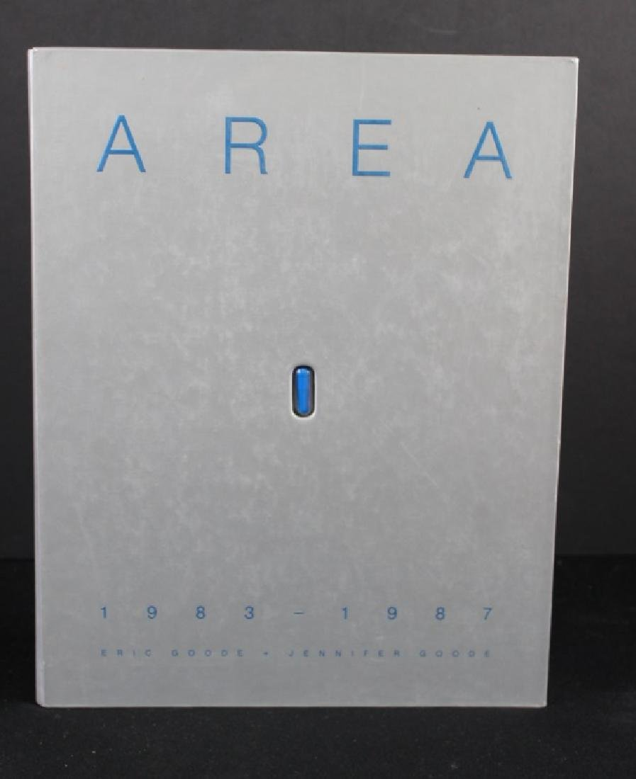 AREA signed book Jennifer Goode/ Warhol Basquait - 2
