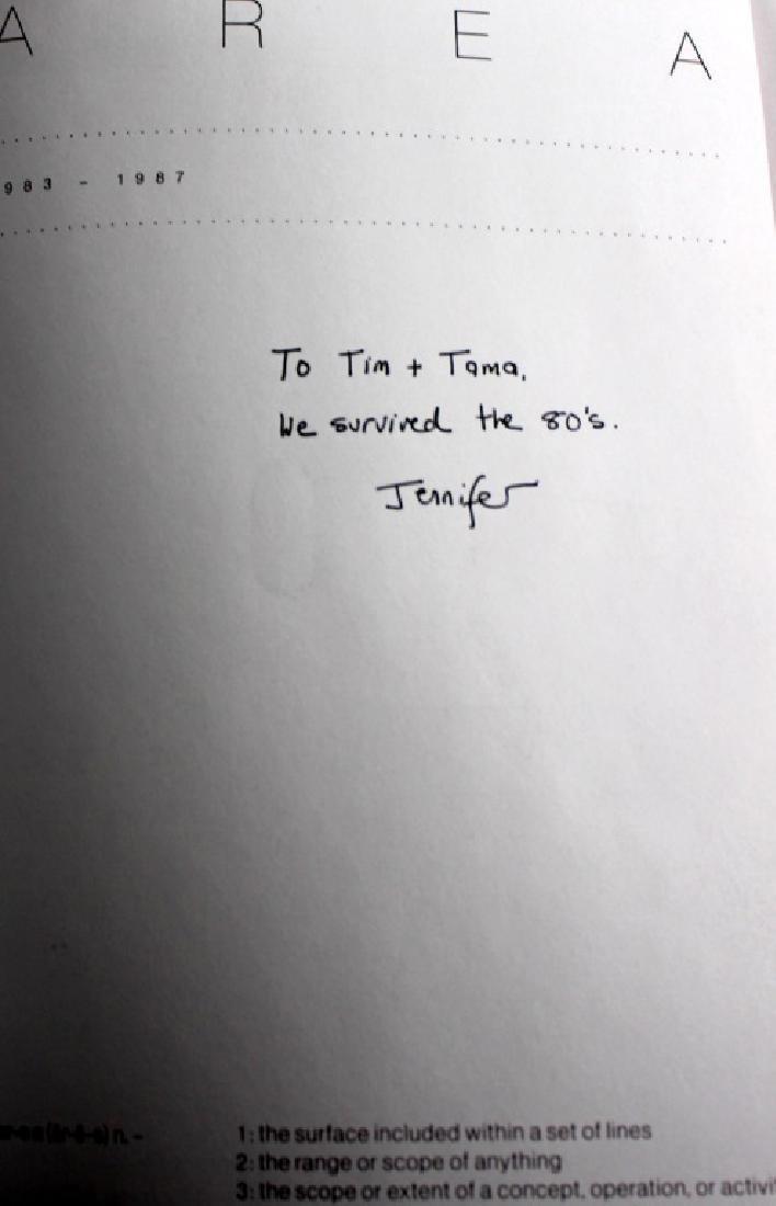 AREA signed book Jennifer Goode/ Warhol Basquait - 3