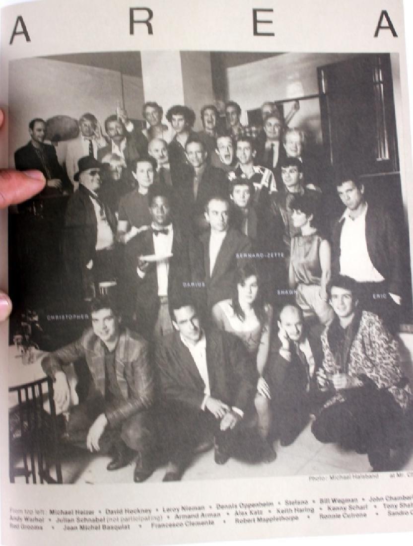 AREA signed book Jennifer Goode/ Warhol Basquait - 4