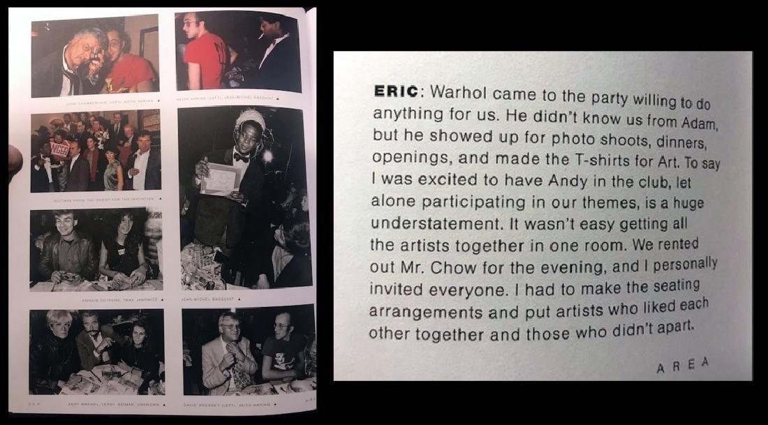 AREA signed book Jennifer Goode/ Warhol Basquait - 5