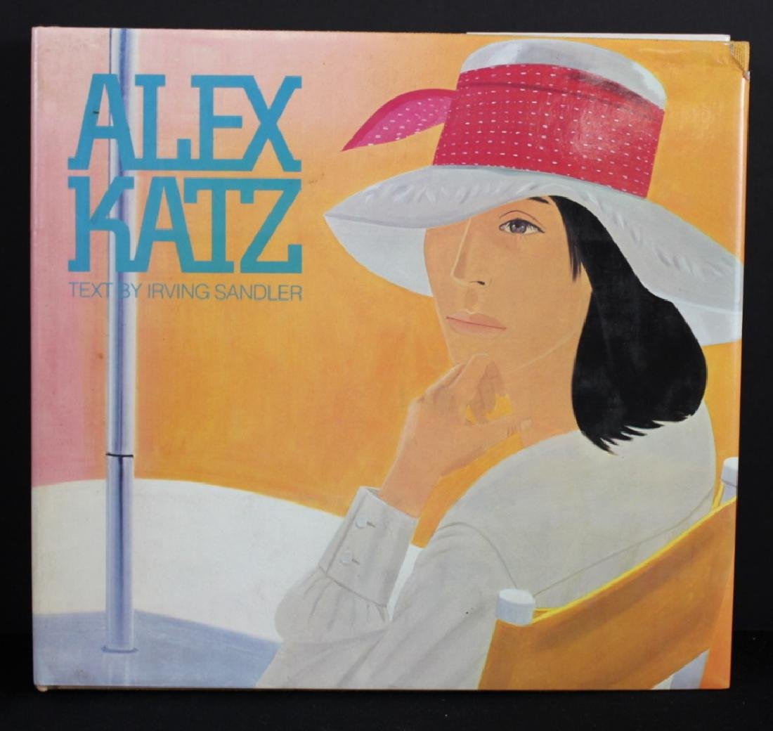 Alex Katz Signed and Inscribed Book 1982 - 2
