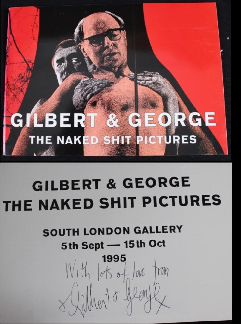 "Gilbert & George ""The Naked Shit Pictures"" Signed"