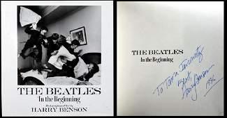Harry Benson The Beatles Inscribed Book