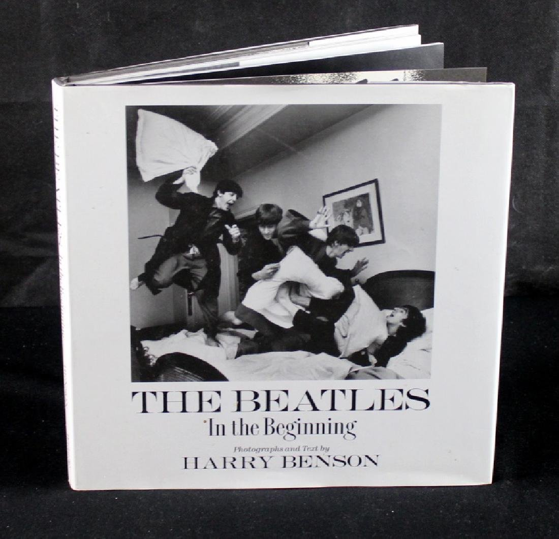 Harry Benson The Beatles Inscribed Book - 2
