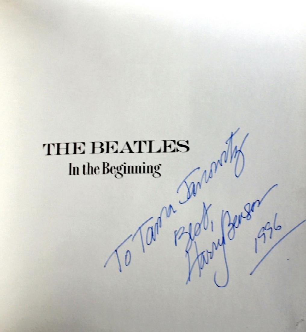 Harry Benson The Beatles Inscribed Book - 3