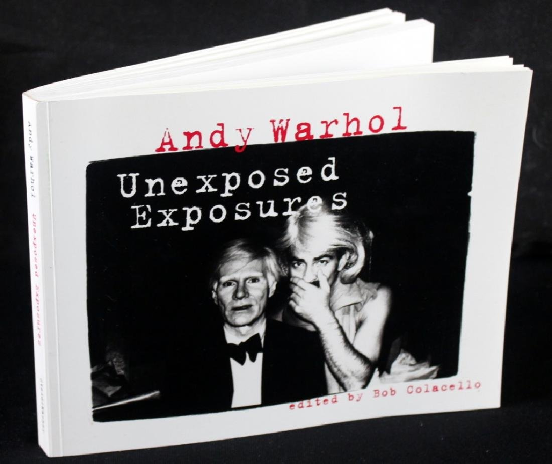 Andy Warhol Unexposed Exposures (Inscribed) - 3