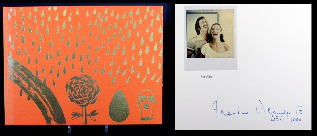 Francesco Clemente Signed Book 434/1000