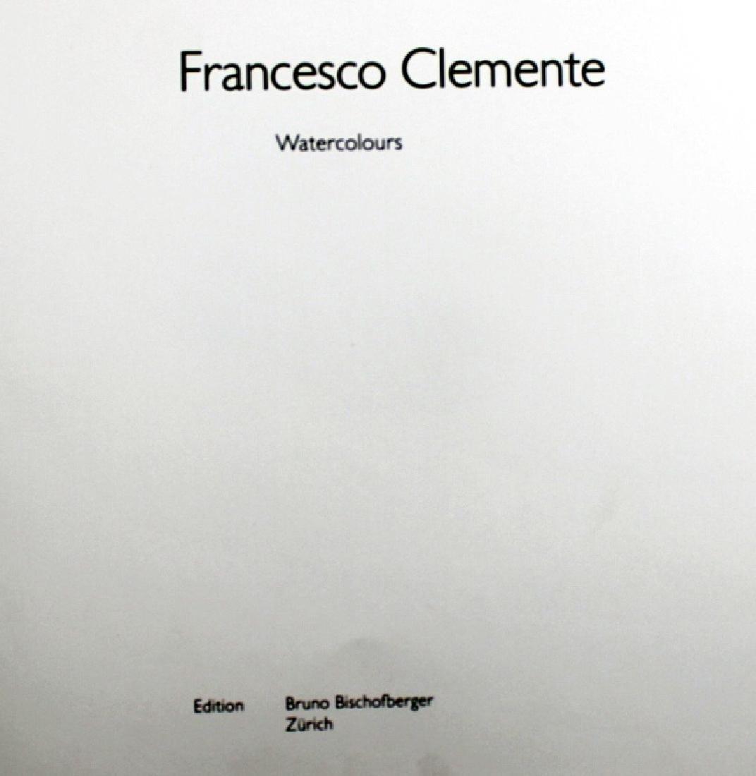 Francesco Clemente Signed Book 434/1000 - 2