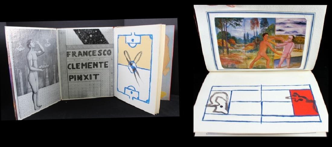 Francesco Clemente Hand made Book Signed 1981 - 2