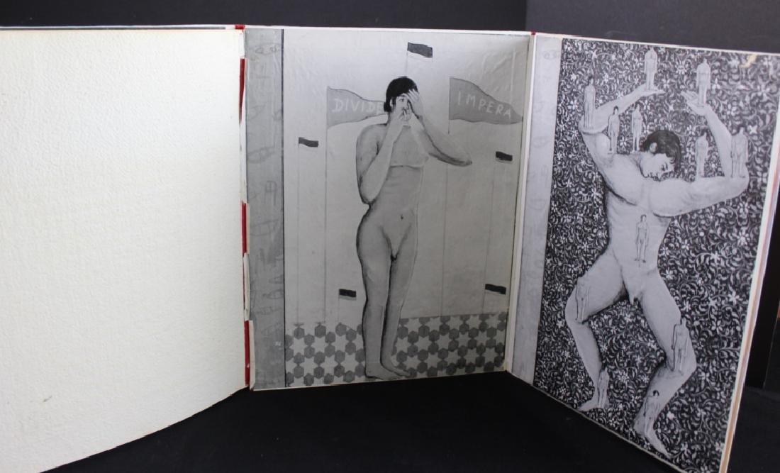 Francesco Clemente Hand made Book Signed 1981 - 5