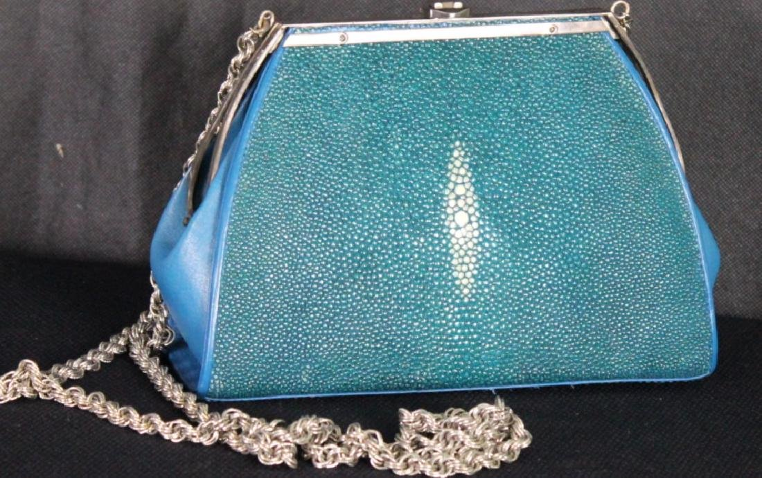 Vintage Pat Areias for Ann Turk Snake/Sterling Bag