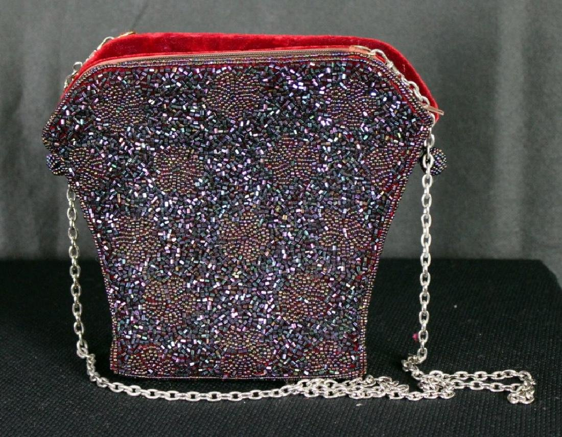 Vintage Inge Christopher Beaded Handbag