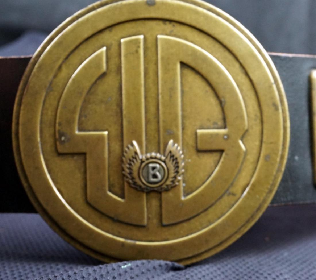 Bogner Leather & Brass Belt - 3