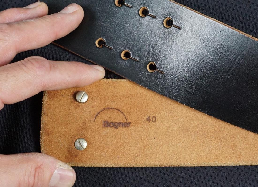Bogner Leather & Brass Belt - 5