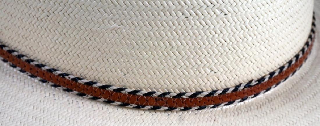 Stetson Genuine Hand Woven Formosan Hat - 2