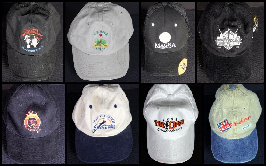 8 Golf Caps U.S. Open
