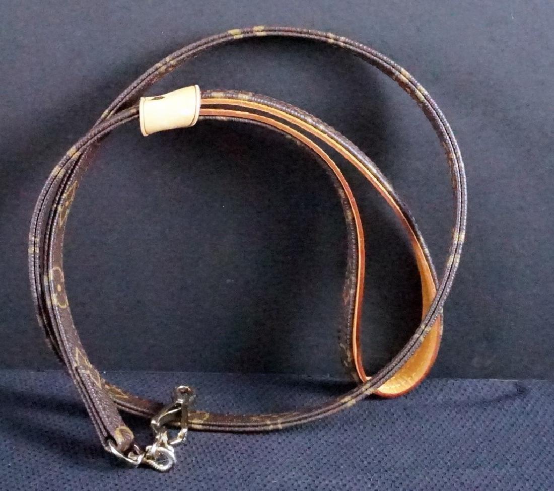 Louis Vuitton Dog Collar and Leash Set - 3