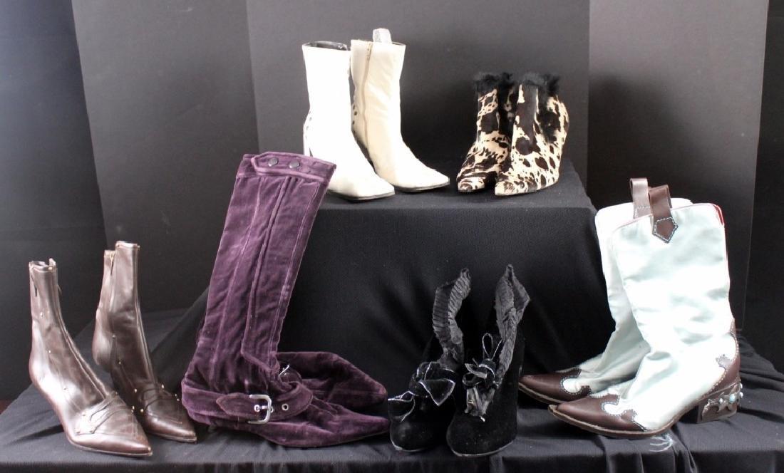 6 Vintage Boots Giuseppe Zanotti, Walter Steiger 9