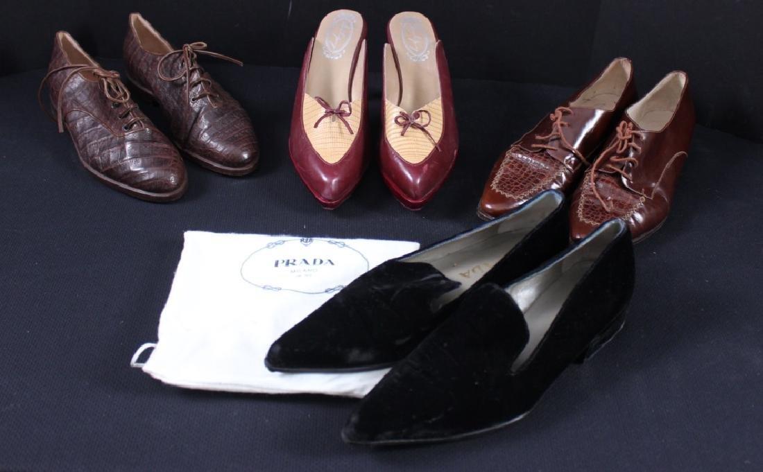 Vintage Shoes Prada, Bally, Salpy (4)