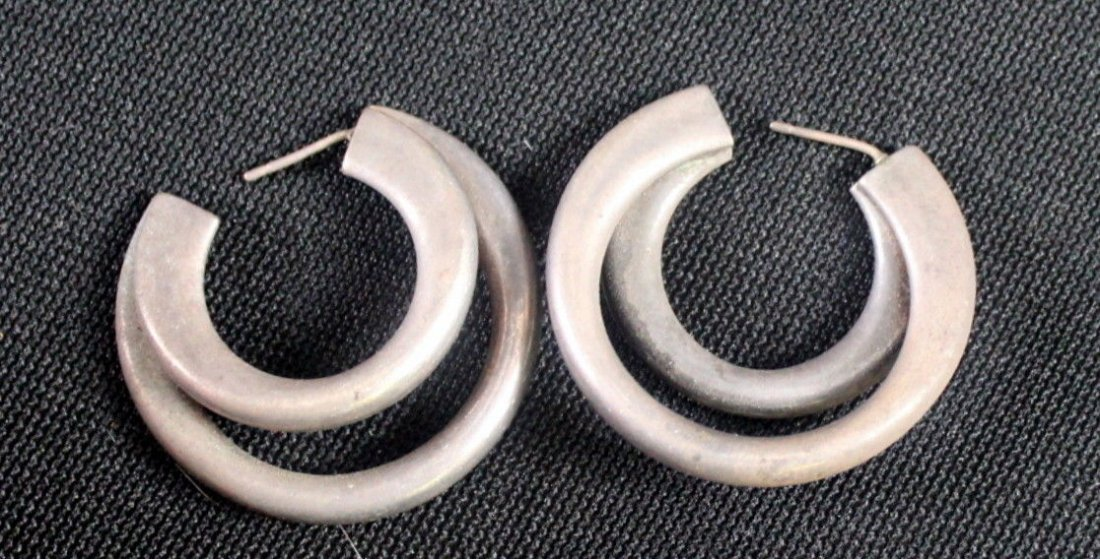 Mid Century Rebajes Double Fish Copper Pin (3) - 6