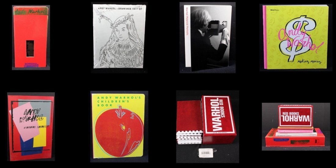 7 Warhol Books From Foundation