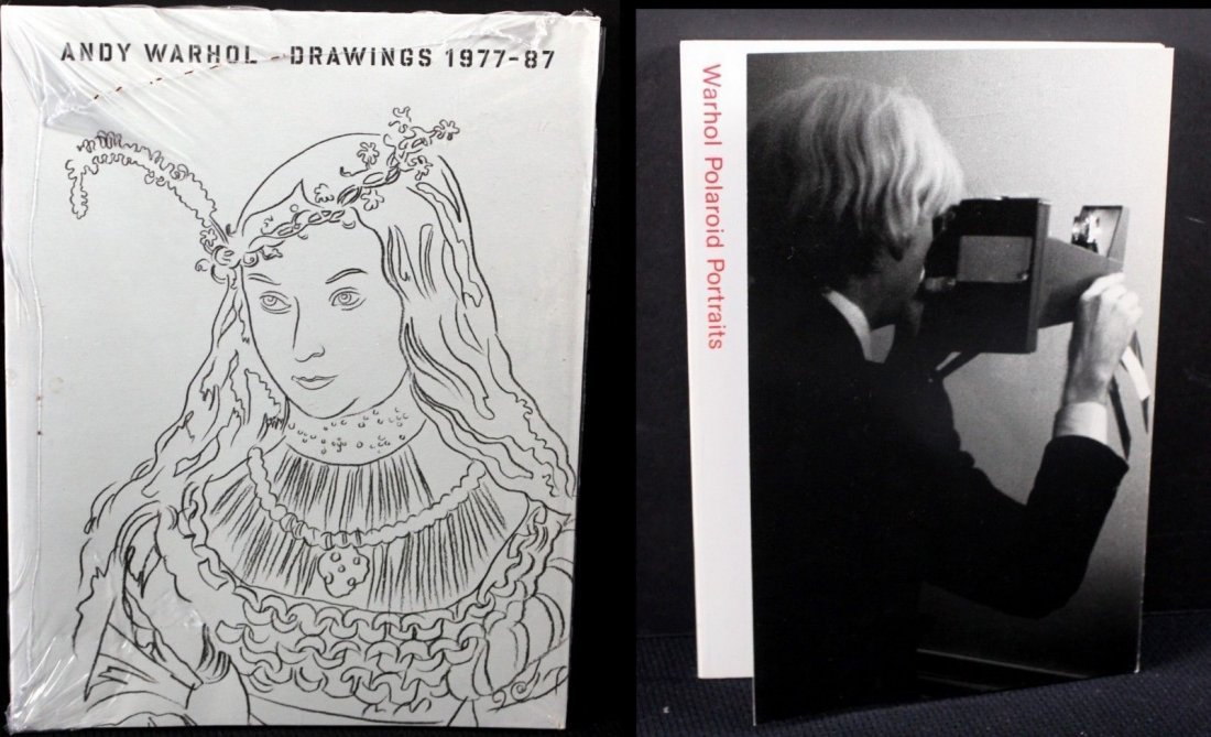 7 Warhol Books From Foundation - 2