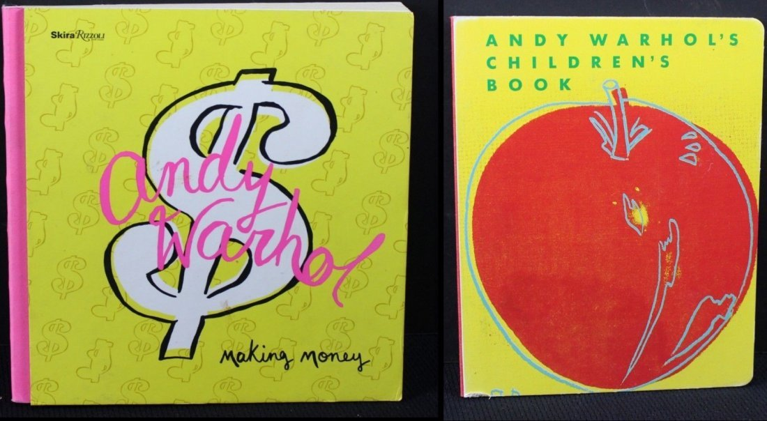 7 Warhol Books From Foundation - 4