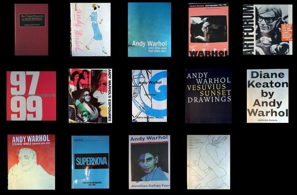 Andy Warhol Books (14)