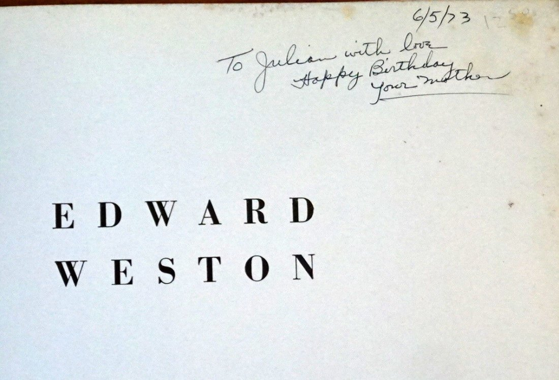 Art of Edward Weston SIGNED FIRST EDITION 1932 New York - 5