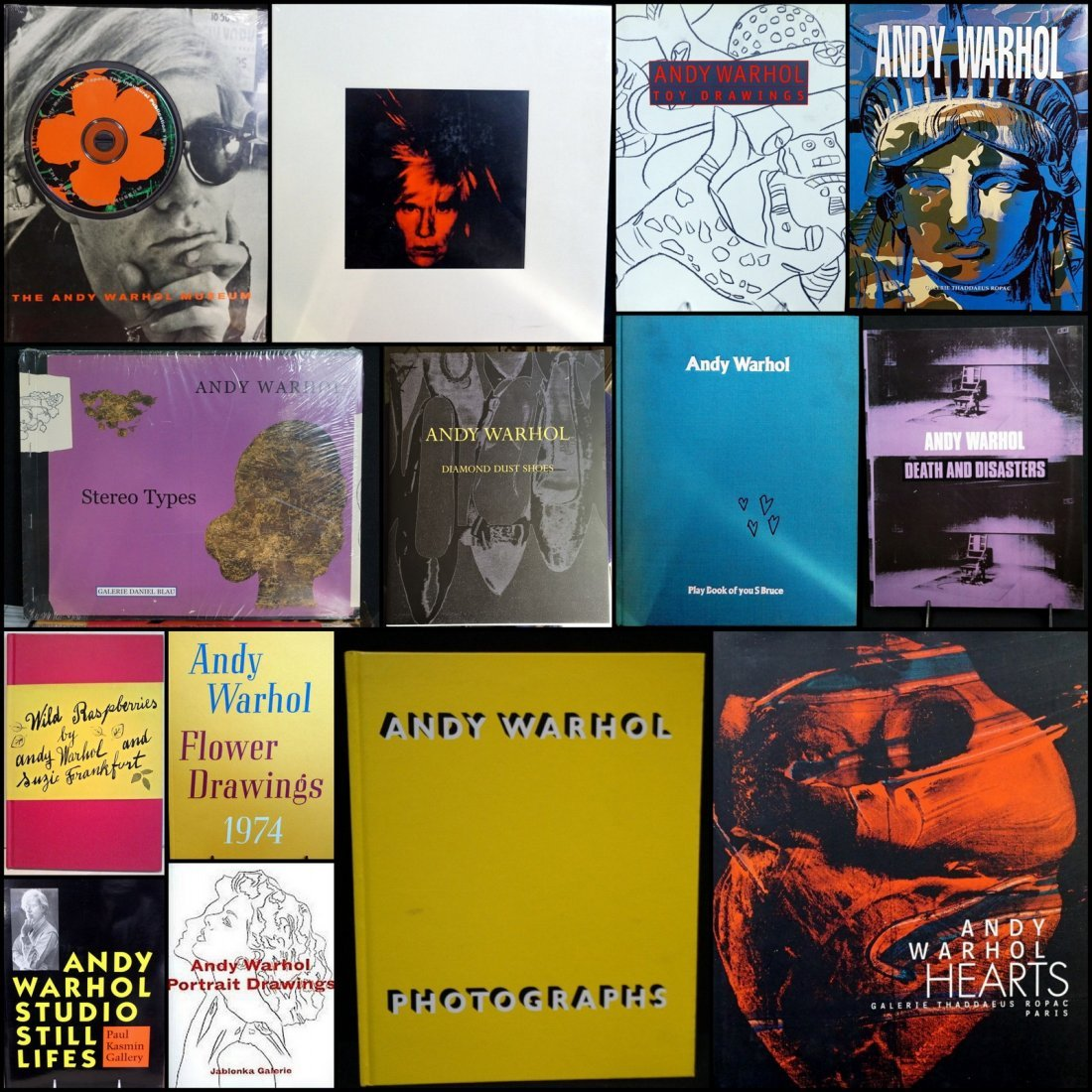 Andy Warhol Books and Exhibitions (14)