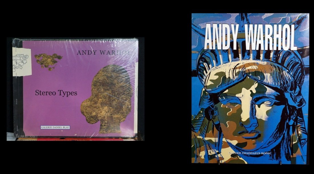 Andy Warhol Books and Exhibitions (14) - 3