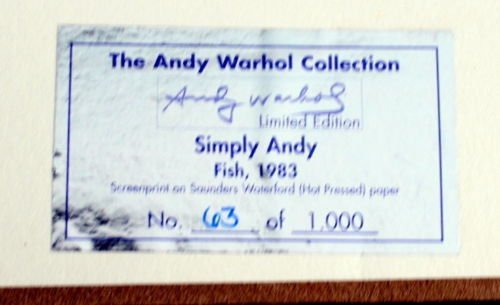 Andy Warhol Gifts from Warhol Foundation from Tim Hunt - 3