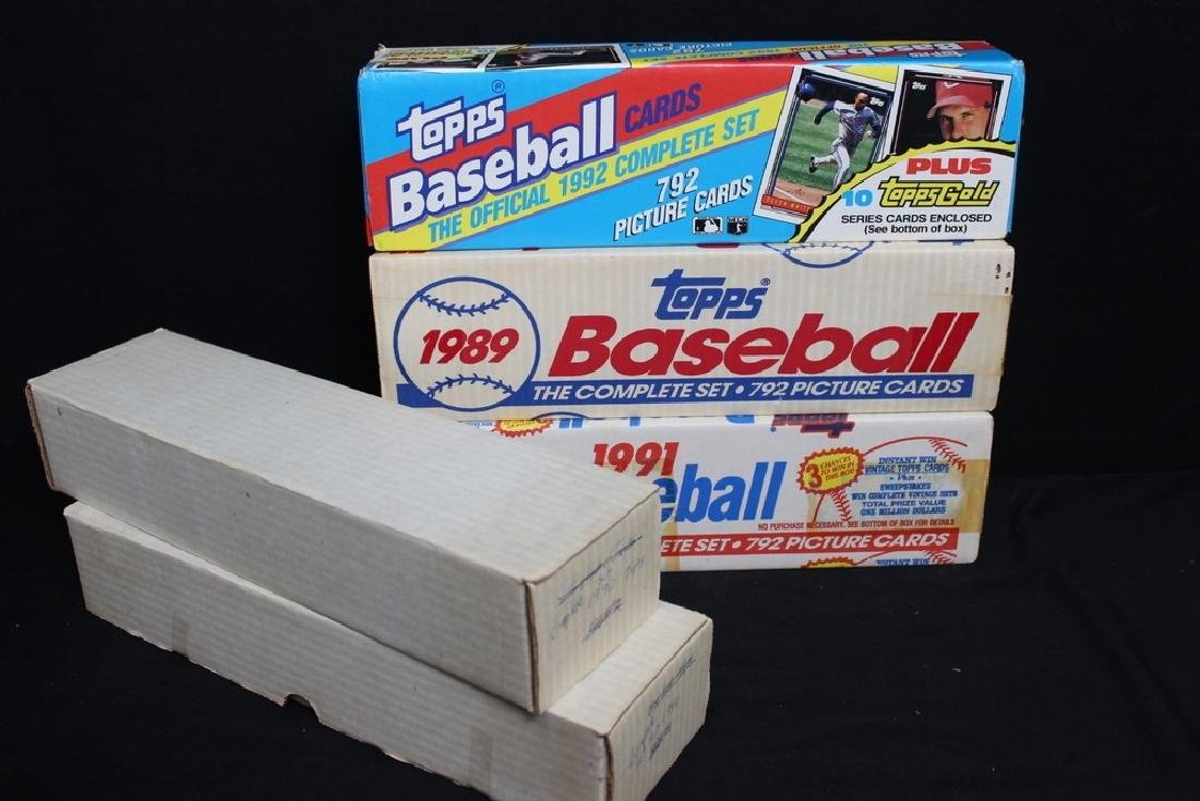 TOPPS Baseball Cards Sets