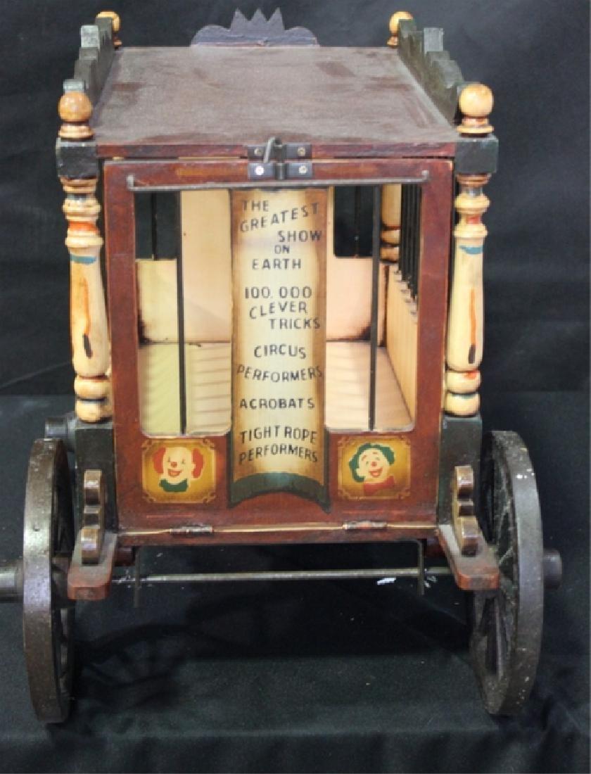 Decorative Circus Cart - 3