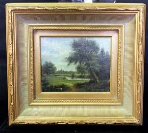 Decorative Landscape Oil Painting on Canvas